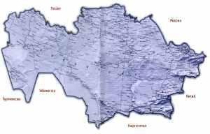 Географическое положение Казахстана и его границы