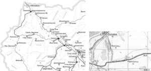 Надписи на географических картах