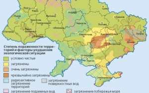 Экологическая карта Украины: где лучше жить?