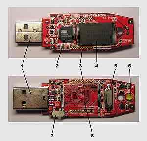 Электронные полупроводниковые накопители Flash